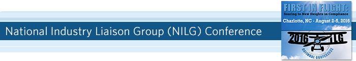 National Industry Liaison Group (NILG) Conference